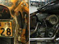 Мужчина нашел в мусоре на пляже мотоцикл Harley-Davidson. Увидев номерной знак, он очень удивился