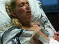 Она умерла во время родов. Когда муж прощался с ней, он показал ей это…