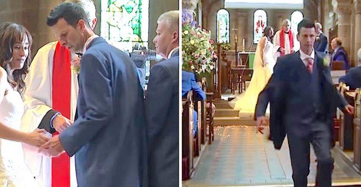 Жених и невеста стояли перед алтарем. Вдруг он повернулся и выбежал из церкви…