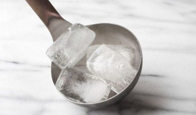 Вот как можно использовать кубик льда! 10 секретных приемов хозяйки