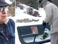 Мужчина ежедневно приносит цветы своей покойной жене. Но однажды он заметил нечто необычное…