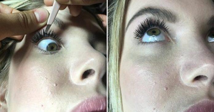 Осторожно, можно повредить слизистую глаза! Этого стоит опасаться всем красавицам.