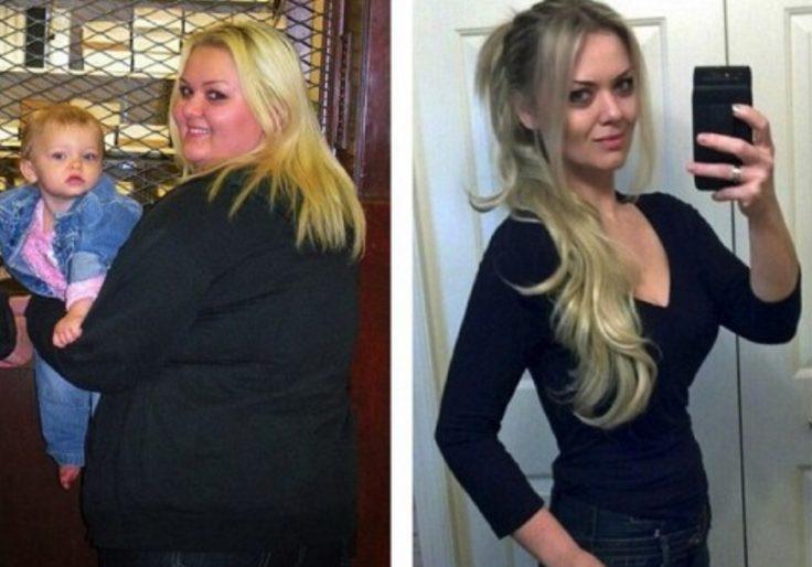 Обиженная на своего бойфренда девушка похудела на 60 кг и вышла замуж за другого