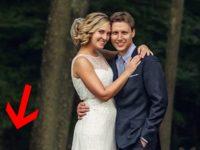 Никто не ожидал, что в разгар свадебной фотосессии на заднем плане появятся эти «ребята»