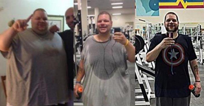Он потерял 195 кг за 700 дней: одна из самых драматичных трансформаций!