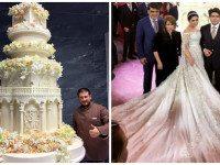 Дочь таджикского олигарха вышла замуж в Москве в платье за 40 миллионов рублей