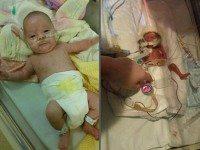 Крошка родилась в 27 недель. Я не могла перестать плакать, глядя на то, какая она маленькая