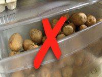 Почему вы никогда не должны класть картошку в холодильник (по оценкам экспертов)