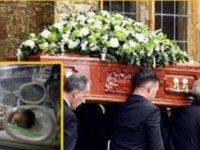 Мать родила ребенка в гробу . Просто невероятно!!