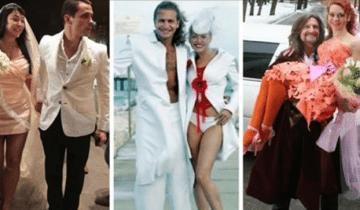 7 самых Безобразных Свадебных Нарядов За Всю Историю Шоу-Бизнеса
