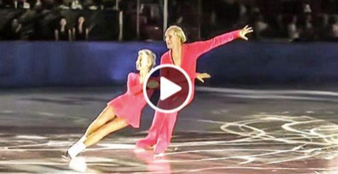 Они – муж и жена и олимпийские чемпионы. Ему 83, ей — 79, и они снова вышли на лед