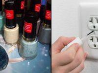 Остановись! Если есть старый лак для ногтей, не спеши выбрасывать бутылочки.
