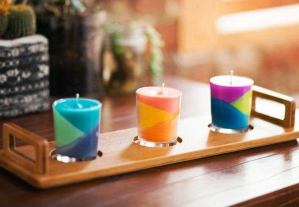 Самый креативный способ использования цветных мелков, или романтический вечер своими руками