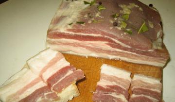 Маринованное сало: Рецепт моей пробабушки!