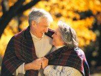 Берется интервью у женщины, прожившей со своим мужем 50 лет без единой ссоры: