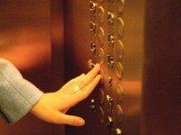 Новогодний лифт