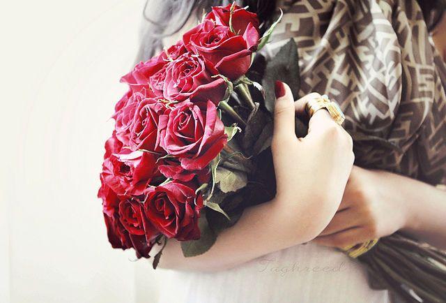 Цветы с заправки