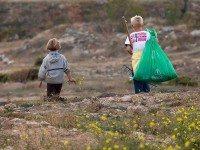 Как я научил сына не мусорить