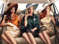 Таксист и три пьяные девушки