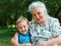 У маленького мальчика был отличный ответ для своей бабушки. Это бесценно!