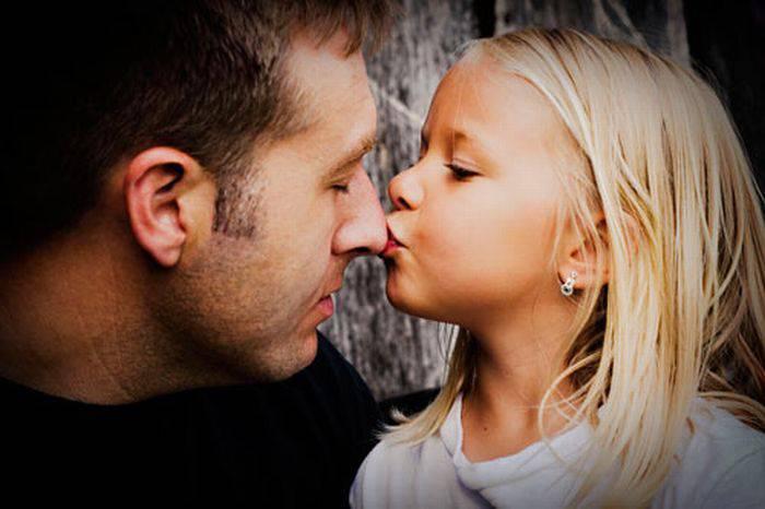 Поцелуй папы
