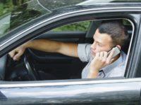 Телефон за рулем