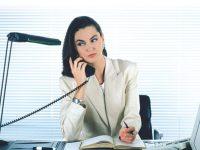 Леди-босс и телефон