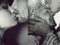 У края поля стояли Любовь и Разлука и любовались молодой парой.