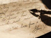 Это потрясающее письмо от неизвестного автора заставит взглянуть на жизнь по-новому