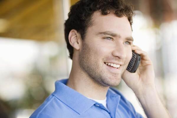 Он: «Алло, привет, какие планы на вечер?»