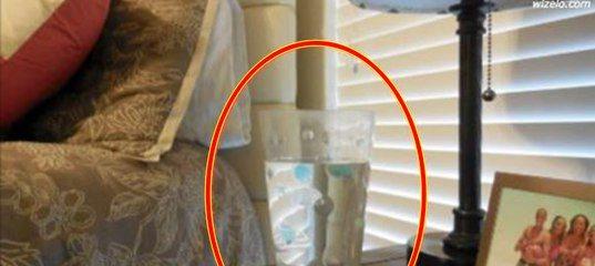 Поставьте дома стакан с водой, солью и уксусом. Через сутки вы увидите то, что скрыто от ваших глаз!
