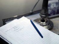 Муж написал следующее письмо для своей жены и оставил его в гостиной: