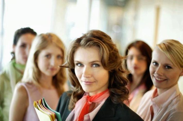 «Дружный» женский коллектив