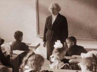 Первая учительница
